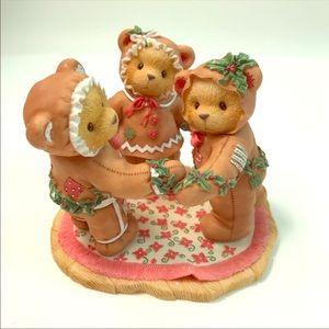 Cherished Teddies Christmas Vintage Figurine